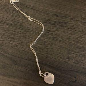 Tiffany & Co. Jewelry - Tiffany heart tag pendant